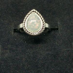 Jewelry - NWOT Sterling Silver Fire Opal ring